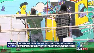 Mural installed at House of Ruth