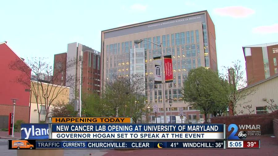 New lab aiming to cure cancer opens at UMD School of Medicine