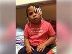 Baltimore girl shares message on violence