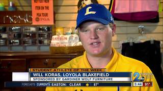 Student Athlete of the Week: Will Koras