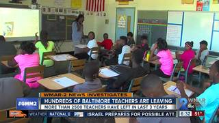 Many teachers are quitting at City schools