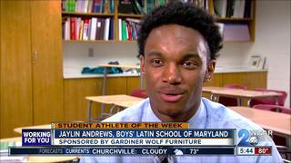 Student Athlete of the Week: Jaylin Andrews