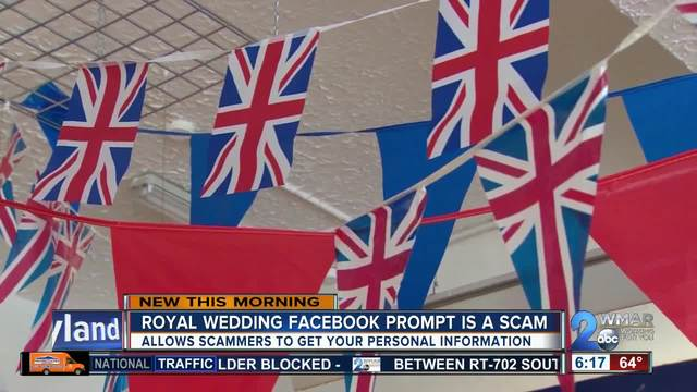 Royal wedding quiz could put you at risk