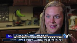 Local bride shares wedding day with The Royals