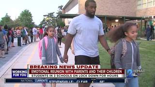 Perry Hall students reunited with parents