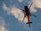 Hiker requires helicopter rescue