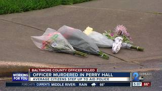 Police officer murdered in Perry Hall