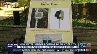 New sensors in Ellicott City to predict flooding
