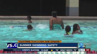 Making sure your family is safe for swim time