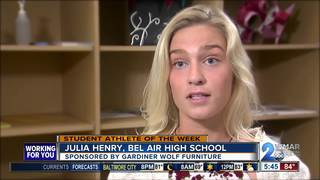 Student Athlete of the Week: Julia Henry