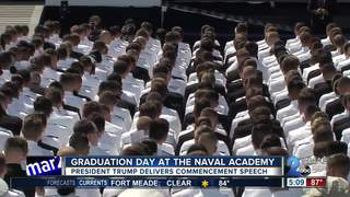Graduation Day at the Naval Academy