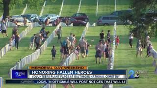 Boy Scouts, volunteers honor fallen heroes