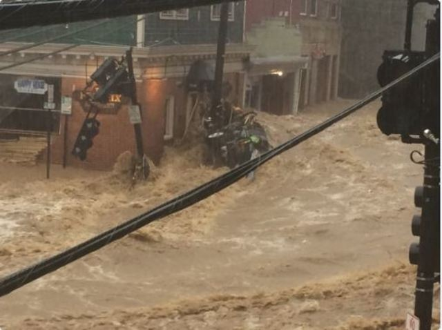 Severe flooding in Ellicott City, shades of 2016