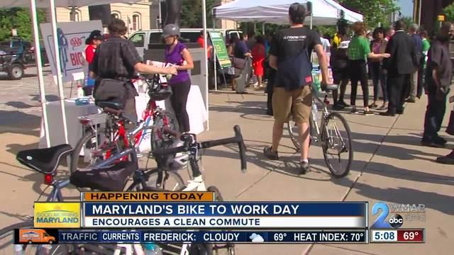 Maryland celebrates National Bike to Work Day