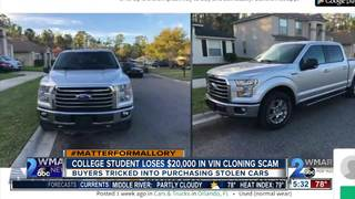 Scam tricks buyers into purchasing stolen cars