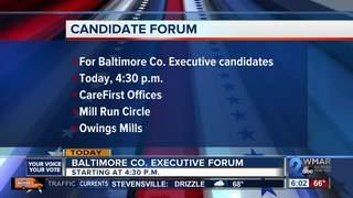 Forum for Baltimore Co. Executivecandidates