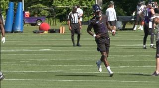 QB Lamar Jackson impresses, Ravens end minicamp