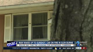 House shot, set ablaze in Glen Burnie