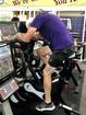 Man bikes the distance around the world