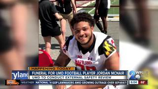 UMD football player to be laid to rest