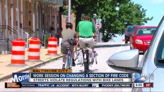 Debate continues over fire codes, bike lanes