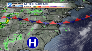 FORECAST: Scattered Showers/Storms Possible