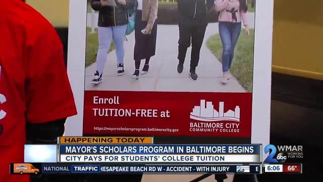 Mayor's program sending students to college for free kicks off