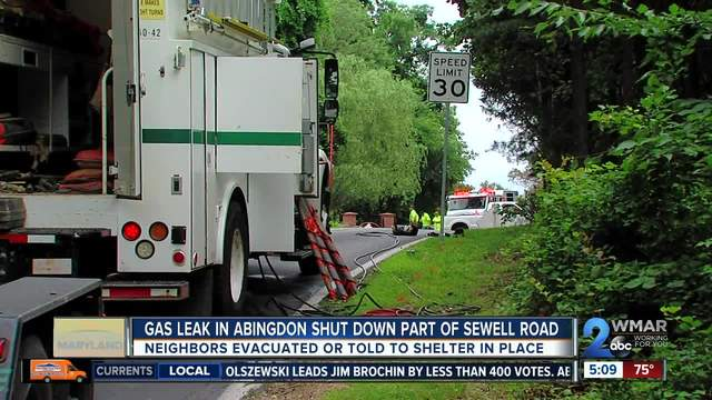 Natural Gas Leak Caused Multiple Abingdon Homes To Be Evacuated