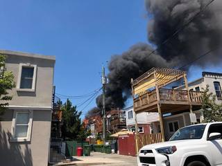 Fire hits three Baltimore city rowhomes