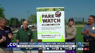 Howard County unveils new Park Watch Program
