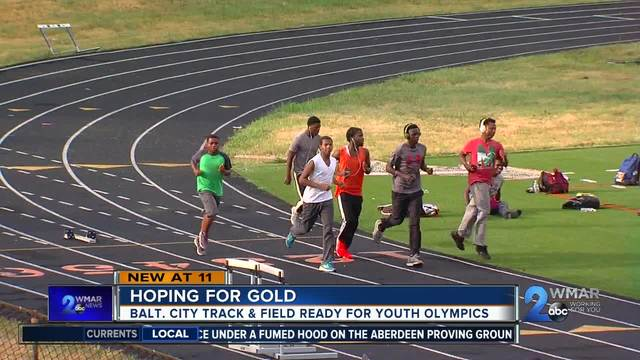 Baltimore Track And Field heading to AAU Youth Olympics