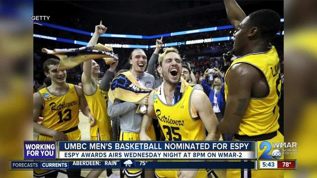 UMBC nominated for ESPY Award