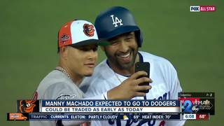 Manny Machado expected to go to the LA Dodgers