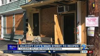 Businesses split over Main St. reopening