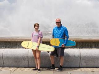 Paddle board trip raises funds for clean water
