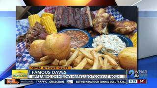 Good morning from Famous Daves!