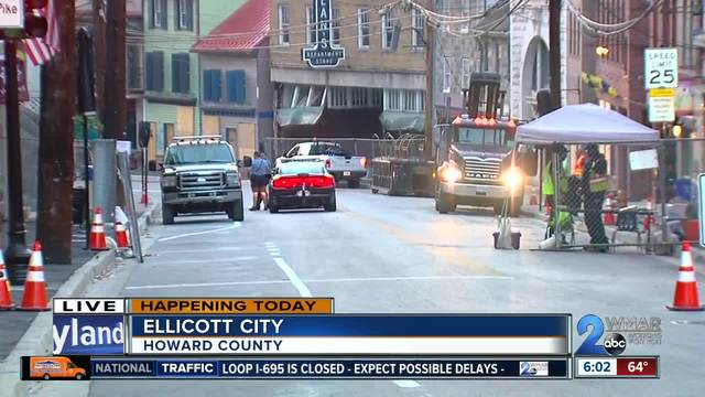 Main Street in Ellicott City to reopen after devastating flash flooding