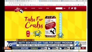 Send in Natty Boh beer tabs to help MD crabs