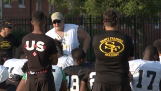 St. Frances back to football amid controversy