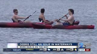 Debris still an issue in waterways