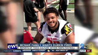 McNair family wants Terps coach Durkin fired