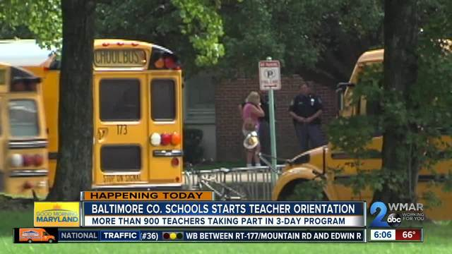 900 new Baltimore County teachers to start orientation