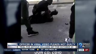 BPD officer in viral video pleads not guilty