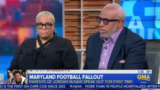 Parents of Jordan McNair speak out on GMA
