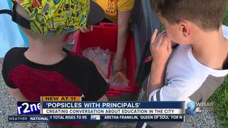 'Popsicles with Principals'