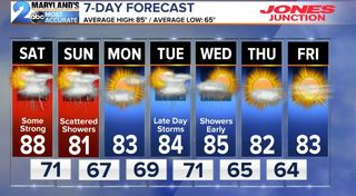 FORECAST:  Stormy Weekend, Not A Washout