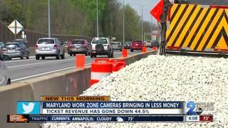 Speeding in work zones less common in Maryland