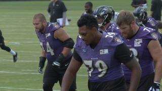 Ravens get healthier on OL, make roster moves