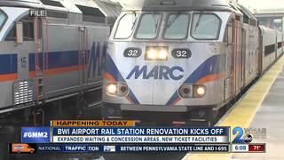 BWI Airport rail station renovation kicks off