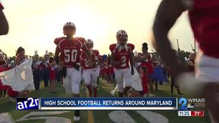 High School Football kicks off around Maryland